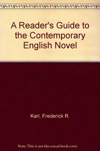 9780374945237: A Reader's Guide to the Contemporary English Novel