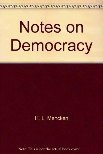 9780374955731: Notes on Democracy
