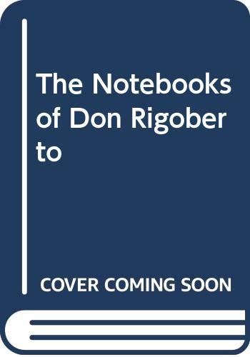 9780374961213: The Notebooks of Don Rigoberto