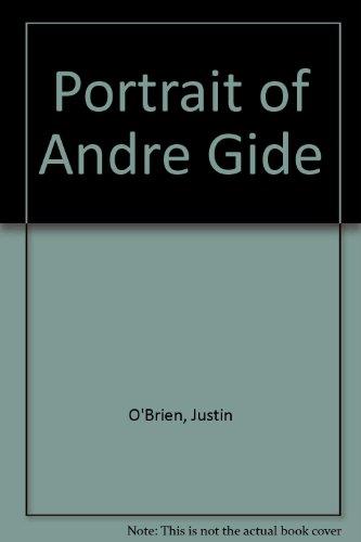 9780374961398: Portrait of Andre Gide