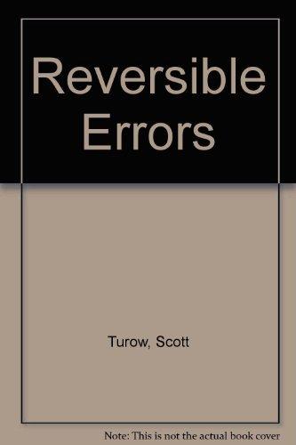 9780374967819: Reversible Errors