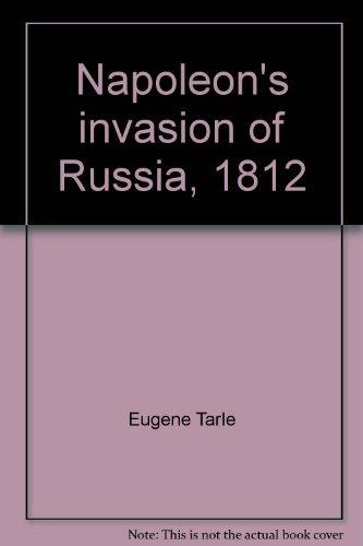 9780374977580: Napoleon's invasion of Russia, 1812