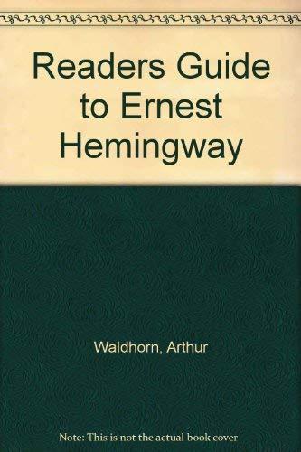 9780374981464: Readers Guide to Ernest Hemingway