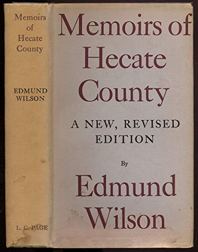 9780374986568: Memoirs of Hecate County
