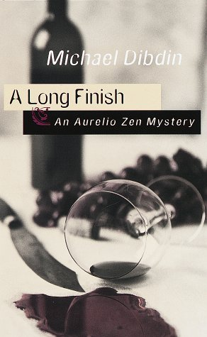 A Long Finish: An Aurelio Zen Mystery [Hardcover] [Aug 25, 1998] Dibdin, Michael: Dibdin, Michael
