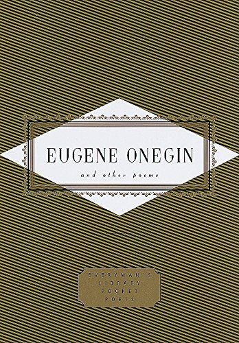 9780375406720: Eugene Onegin and Other Poems