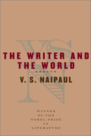 9780375407390: The Writer and the World: Essays