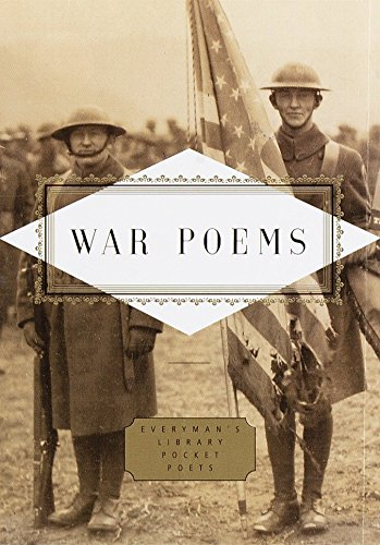 9780375407901: War Poems (Everyman's Library Pocket Poets Series)