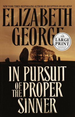 9780375408465: In Pursuit of the Proper Sinner : A Novel (Random House Large Print)