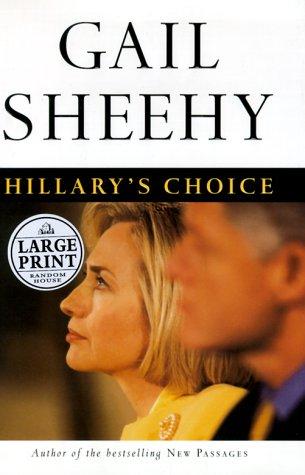 9780375408519: Hillary's Choice (Random House Large Print)