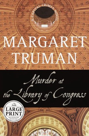 9780375408656: Murder at the Library of Congress (Random House Large Print)
