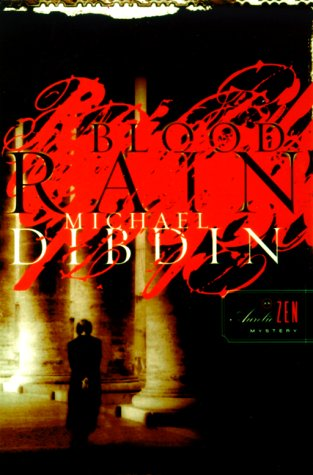 Blood Rain (Signed First Edition): Michael Dibdin