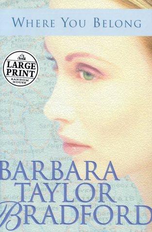 9780375409745: Where You Belong: A Novel (Random House Large Print)