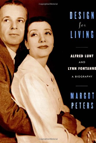 9780375411175: Design for Living: Alfred Lunt and Lynn Fontanne
