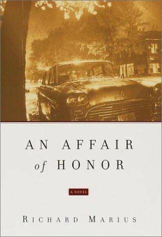 9780375412394: An Affair of Honor