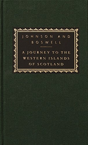 A Journey to the Western Islands of: Samuel Johnson; James