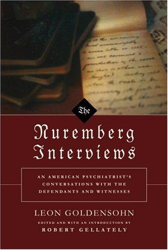 9780375414695: The Nuremberg Interviews