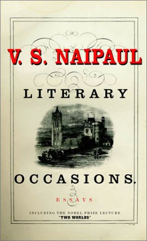 9780375415173: Literary Occasions: Essays
