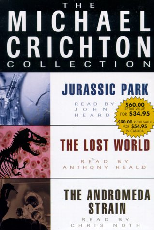 9780375415807: Michael Crichton Value Collection: Andromeda Strain, Jurassic Park, and The Lost World (The Michael Crichton Collection)