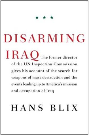 9780375423024: Disarming Iraq