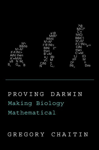 9780375423147: Proving Darwin: Making Biology Mathematical