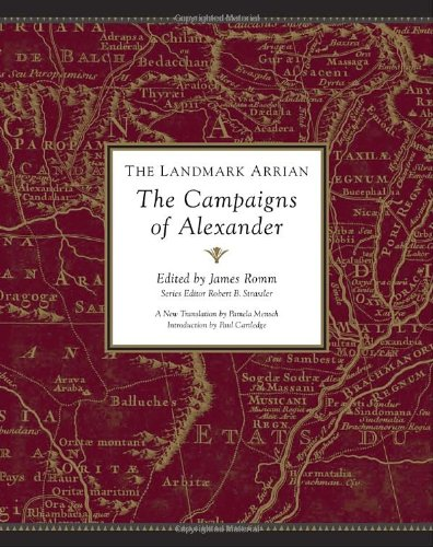 9780375423468: The Landmark Arrian: The Campaigns of Alexander (Landmark Books)