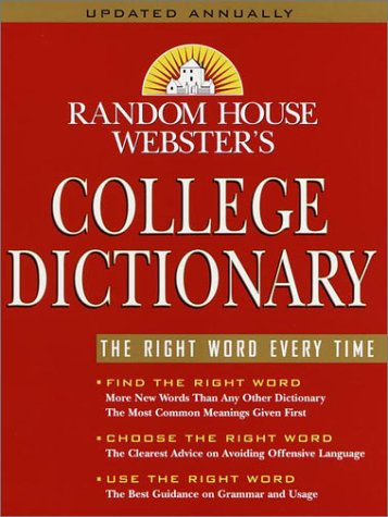 9780375425608: Random House Webster's College Dictionary