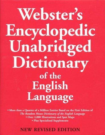 9780375425820: Webster's Encyclopedic Unabridged Dictionary [Gebundene Ausgabe] by Webster's