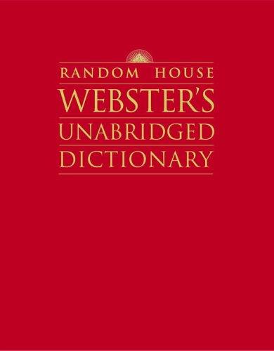 9780375426056: Random House Webster's Unabridged Dictionary, Deluxe Edition