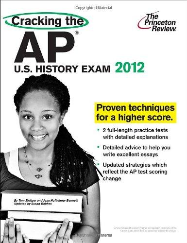 9780375427237: Cracking the AP U.S. History Exam 2012