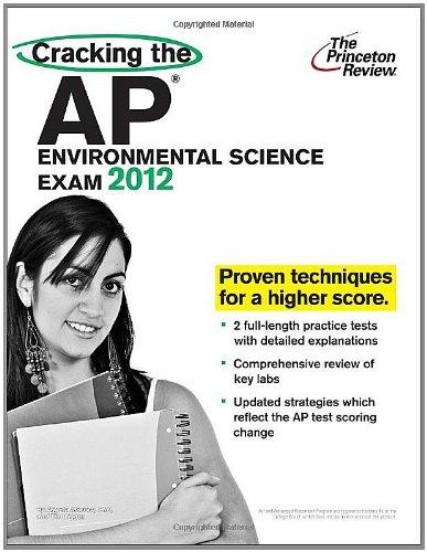 9780375427299: Cracking the AP Environmental Science Exam 2012