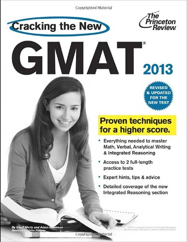 9780375427466: Cracking the New GMAT 2013