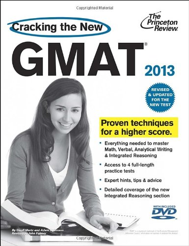 9780375427473: Cracking the New GMAT 2013