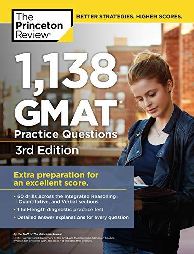 9780375427480: 1,138 GMAT Practice Questions, 3rd Edition (Graduate School Test Preparation)