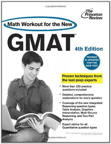 9780375427497: Math Workout for the New GMAT, 4th Edition