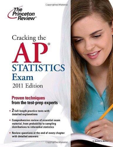 9780375427824: Cracking the AP Statistics Exam, 2011 Edition