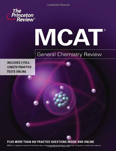 9780375427947: MCAT General Chemistry Review (Graduate School Test Preparation)