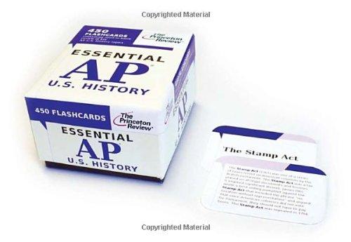 9780375428005: Essential AP U.S. History (flashcards) (College Test Preparation)