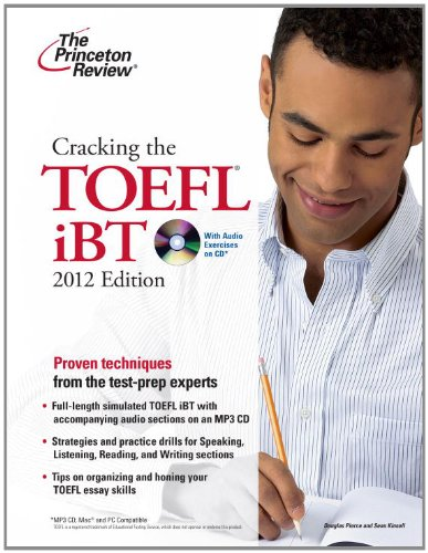 9780375428234: Cracking the TOEFL iBT with CD, 2012 Edition (College Test Preparation)