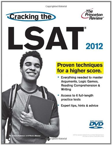 9780375428272: Cracking the LSAT with DVD, 2012 Edition (Graduate School Test Preparation)