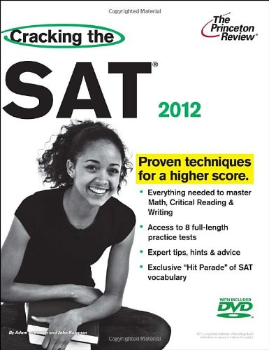 9780375428302: Cracking the SAT with DVD, 2012 Edition (College Test Preparation)