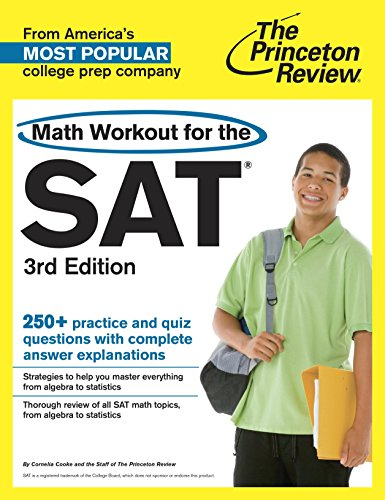 9780375428333: Math Workout for the SAT, 3rd Edition (College Test Preparation)
