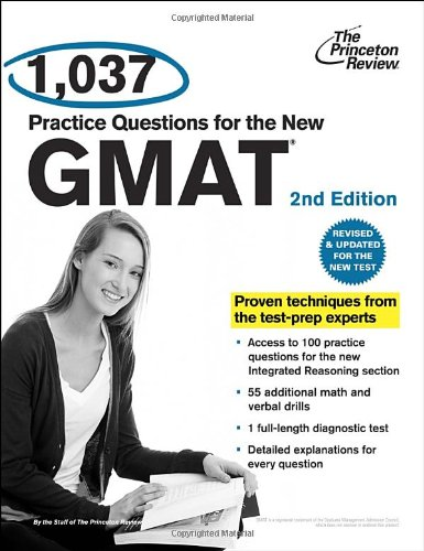 9780375428340: 1,037 Practice Questions for the New GMAT