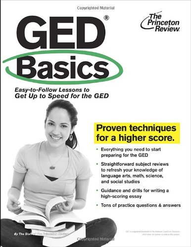 9780375428364: GED Basics: Easy-to-Follow Lessons to Get Up to Speed for the GED (College Test Preparation)