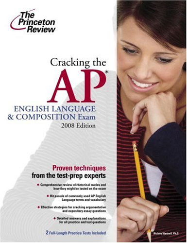 9780375428425: Cracking the Ap English Language & Composition Exam 2008