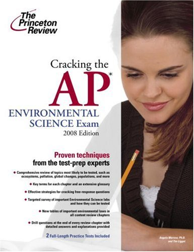 9780375428449: Cracking the AP Environmental Science Exam, 2008 Edition (College Test Preparation)