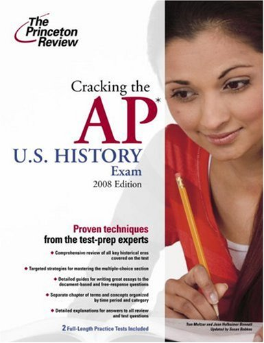 9780375428517: Cracking the AP U.S. History Exam, 2008 Edition (College Test Preparation)