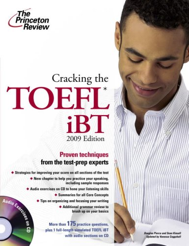 9780375428555: Cracking the toefl ibt (audio exercises on CD) (Princeton Review Series)
