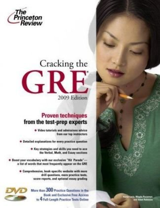 9780375428647: Cracking The GRE, 2009 Edition