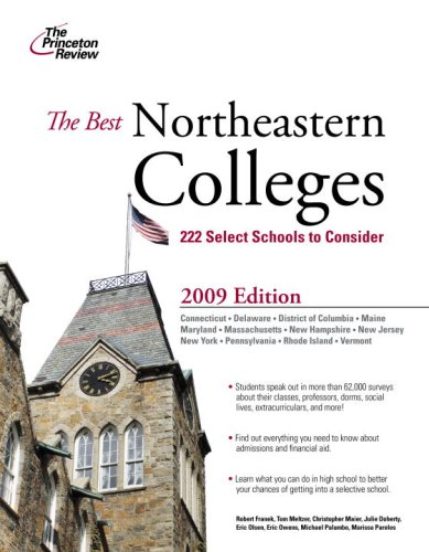 9780375428739: Best Northeastern Colleges, 2009 Edition (College Admissions Guides)